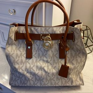 Michael Kors Hamilton Satchel Purse